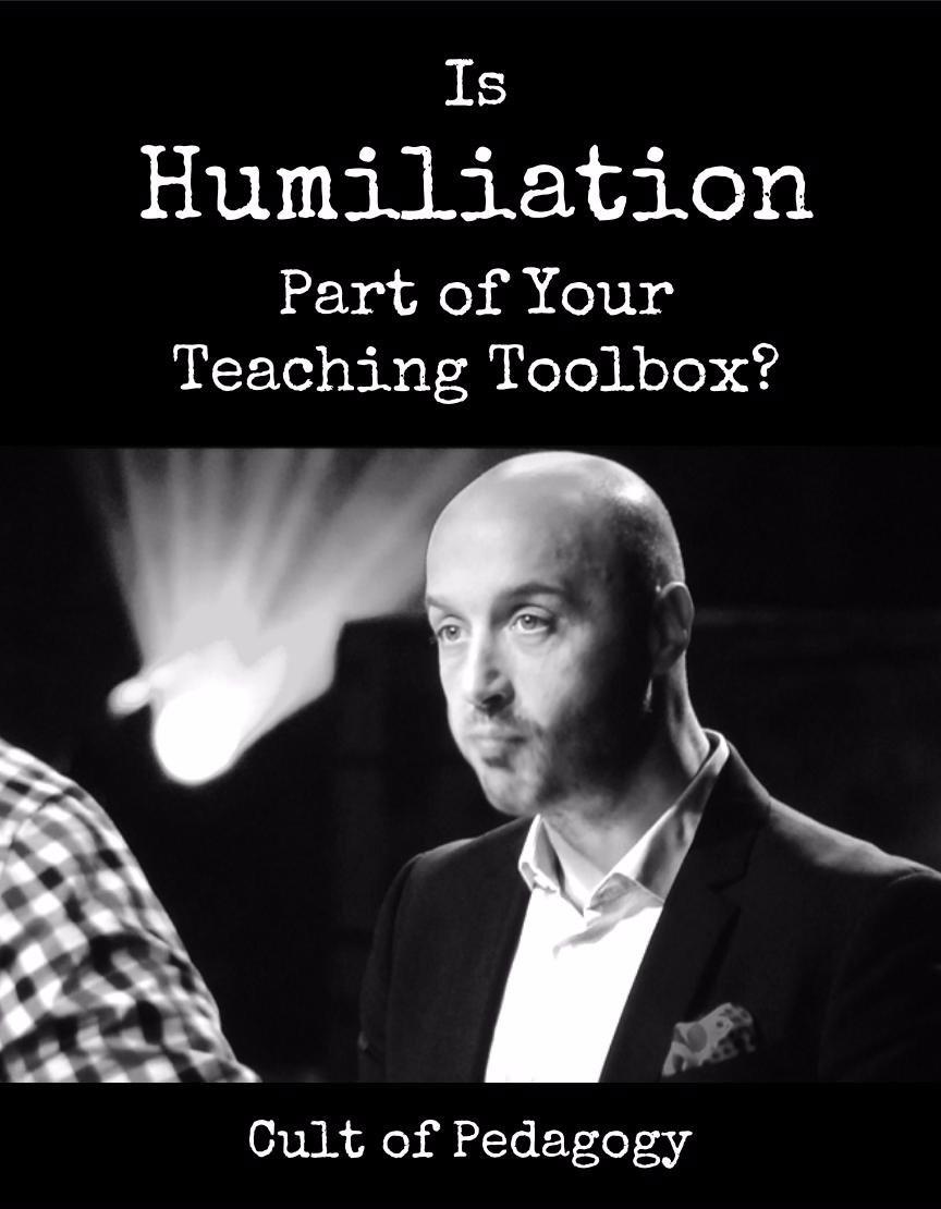 EdA2Z2016 – Humiliation